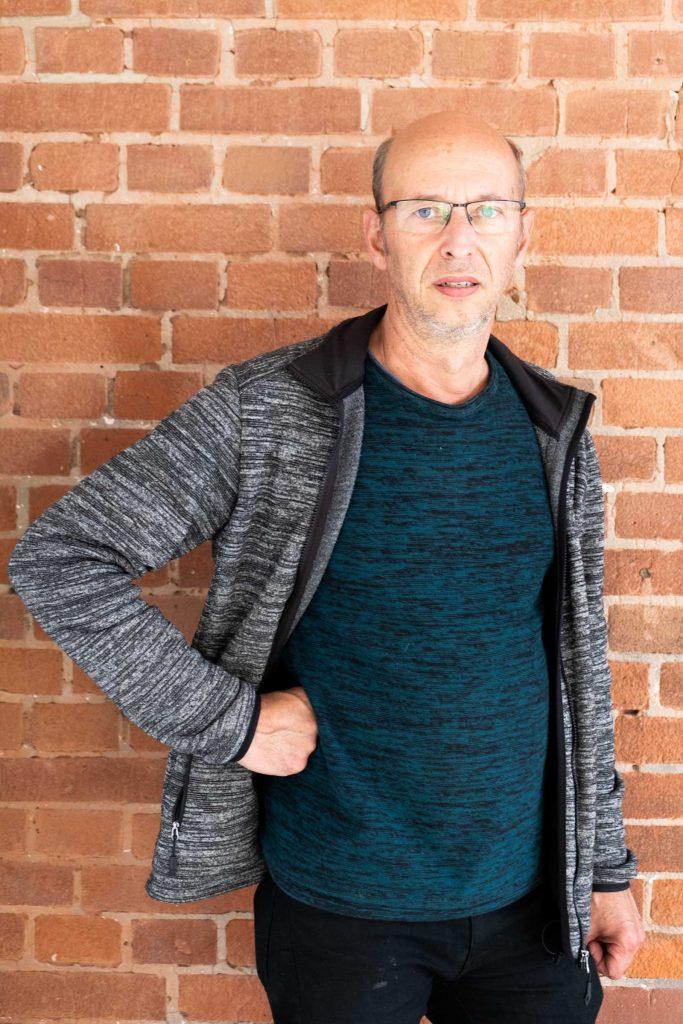 Architekt Carsten Peters begleitete die Umbauarbeiten am neuen Studierendenhaus.