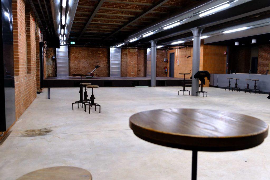 """Das neue Kulturzentrum """"Färberei"""" befindet sich im Keller des neuen Studierendenhauses."""